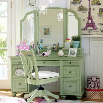 green tea dressing table